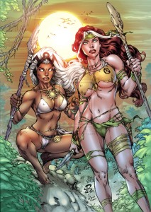 pinup_rogue_and_storm